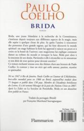 Brida - 4ème de couverture - Format classique