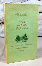 Trois portraits de femmes. La duchesse de Devonshire, La comtesse d'Albany, Henriette-Marie de France. - Couverture - Format classique