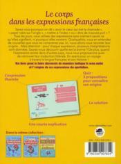Le corps dans les expressions françaises - 4ème de couverture - Format classique