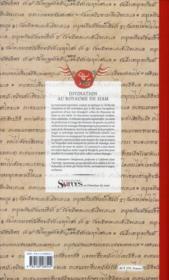 Divinations au royaume de Siam : le corps, la guerre, le destin (coffret) - 4ème de couverture - Format classique