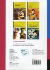 RIVES BLEUES ; français ; 3ème ; manuel unique de l'élève (édition 2012) - 4ème de couverture - Format classique