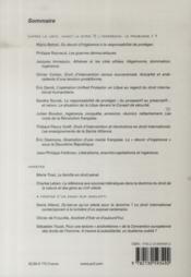 Revue Droits N.56 ; L'Ingérence, Le Problème T.1 - 4ème de couverture - Format classique