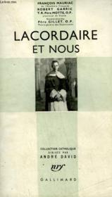 Lacordaire Et Nous. Collection Catholique. - Couverture - Format classique