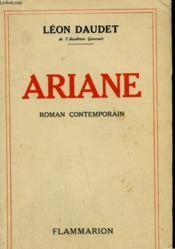 Ariane. - Couverture - Format classique