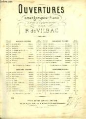 Ouvertures Pour Piano : Du Voyage En Chine De Bazin F. - Couverture - Format classique