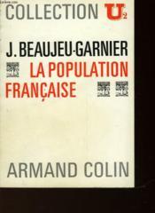 La Population Francaise - Couverture - Format classique