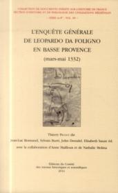 Enquete generale de leopardo da foligno vol 7 - Couverture - Format classique