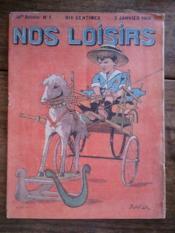 NOS LOISIRS n°1 quatrième année - Couverture - Format classique