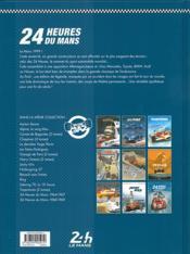 24 heures du Mans ; 1999 : le choc des titans - 4ème de couverture - Format classique