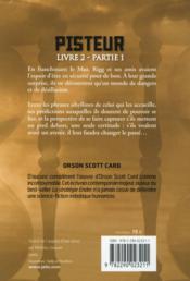 Pisteur livre 2, partie 1 - 4ème de couverture - Format classique