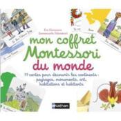 Mon coffret Montessori pour découvrir le monde - Couverture - Format classique