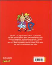 Tom-Tom et Nana T.8 ; les deux terreurs - 4ème de couverture - Format classique