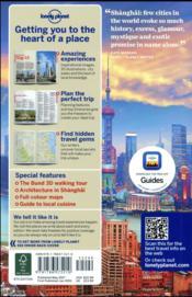 Shanghai (8e édition) - 4ème de couverture - Format classique