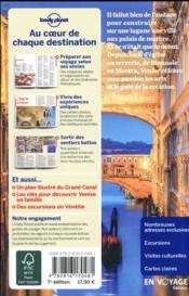 Venise (7e édition) - 4ème de couverture - Format classique
