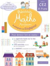 Réussir en maths avec Singapour ; CE2 - Couverture - Format classique