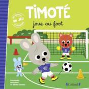 Timoté joue au foot - Couverture - Format classique