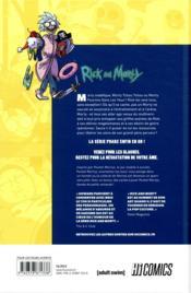 Rick and Morty ; pocket Mortys ; soumettez-les tous ! - 4ème de couverture - Format classique