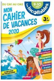 Les incollables ; cahier de vacances ; du CM1 au CM2 - Couverture - Format classique