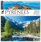 Pyrénées ; la passion de nos régions (édition 2021) - Couverture - Format classique