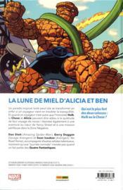 Fantastic Four T.4 ; la Chose vs l'immortel Hulk - 4ème de couverture - Format classique