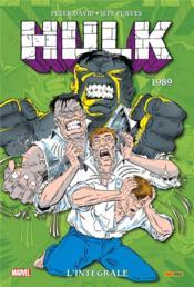 Hulk ; INTEGRALE VOL.4 ; 1989 - Couverture - Format classique