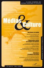 Médias et culture ; numéro special mars 2008 - Couverture - Format classique