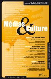 Médias et culture ; numéro special mars 2008 - Intérieur - Format classique