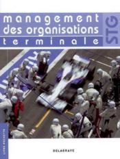 Management organisation terminale stg eleve - Couverture - Format classique