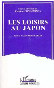 Les loisirs au Japon - Couverture - Format classique