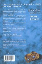 Roma - 4ème de couverture - Format classique