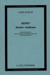 Beppo histoire venitienne - Couverture - Format classique