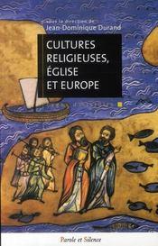 Cultures religieuses, églises et Europe - Intérieur - Format classique