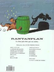 Rantanplan t.9 ; le messager - 4ème de couverture - Format classique