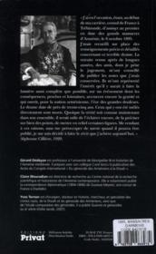1895, massacres d'Arméniens - 4ème de couverture - Format classique