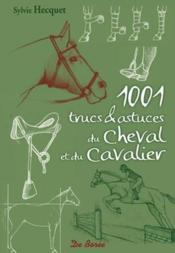 1001 trucs et astuces du cheval et du cavalier - Couverture - Format classique