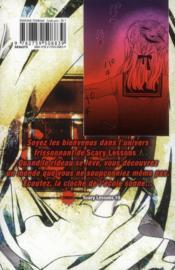 Scary lessons t.10 - 4ème de couverture - Format classique