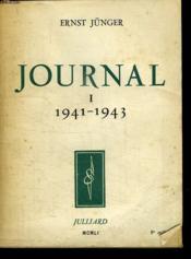 Journal 1. 1941 - 1943. - Couverture - Format classique