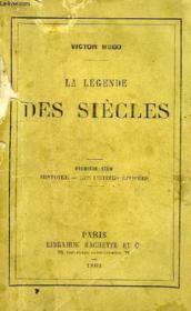 LA LEGENDE DES SIECLES, 1re SERIE, HISTOIRE, LES PETITES EPOPEES - Couverture - Format classique