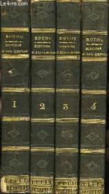 Histoire du Bas-Empire, depuis Constantin jusqu'à la Prise de Constantinople en 1453. En 4 Tomes. - Couverture - Format classique
