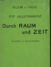 En Allemagne Durch Zeit Und Raum - Couverture - Format classique