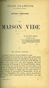 La Maison Vide- Pierrille - Couverture - Format classique