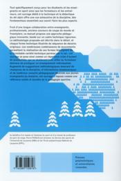 Enseigner le ski ; des fondamentaux à l'action technique - 4ème de couverture - Format classique