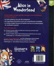 Alice in wonderland - 4ème de couverture - Format classique