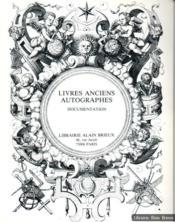 Histoire des sciences et de la médecine. Livres anciens, autographes et manuscrits, documentation - Couverture - Format classique