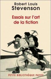 Essais sur l'art de la fiction - Couverture - Format classique