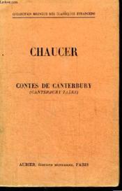 Contes De Canterbury - Couverture - Format classique