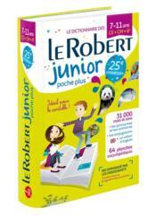 Dictionnaire Le Robert junior ; 7/11 ans ; CE, CM, 6e (édition 2018) - Couverture - Format classique