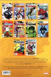 Spider-Man T.41 ; 1985 - 4ème de couverture - Format classique