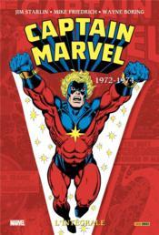 Captain Marvel ; INTEGRALE VOL.3 ; 1972-1974 - Couverture - Format classique