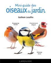 Mini-guide des oiseaux du jardin - Couverture - Format classique